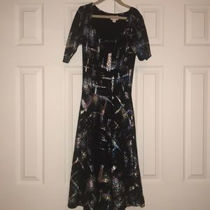 Lularoe Elegant Nicole Dress XXS EUC